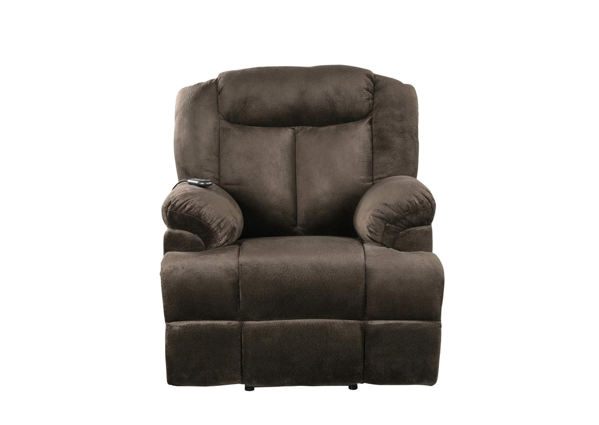 Licorice Casual Chocolate Velvet Power Lift Recliner,Coaster Furniture