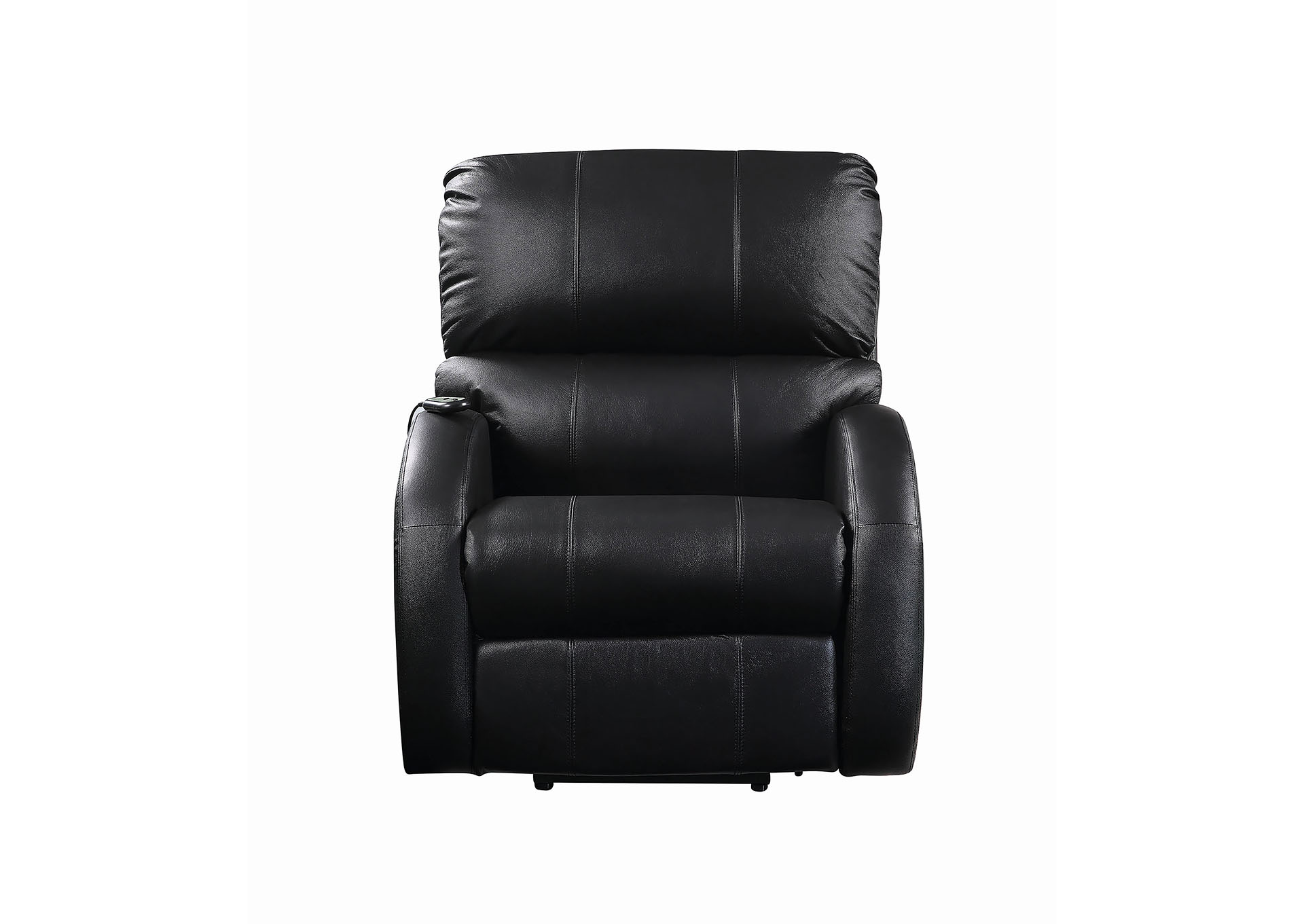 Eerie Black Casual Black Power Lift Recliner,Coaster Furniture