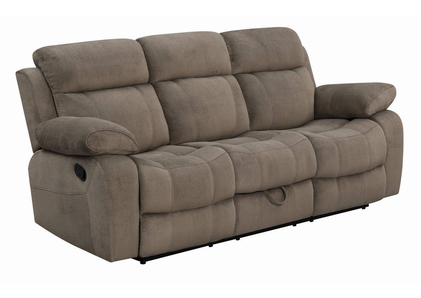 Coffee Myleene Brown Reclining Sofa,Coaster Furniture