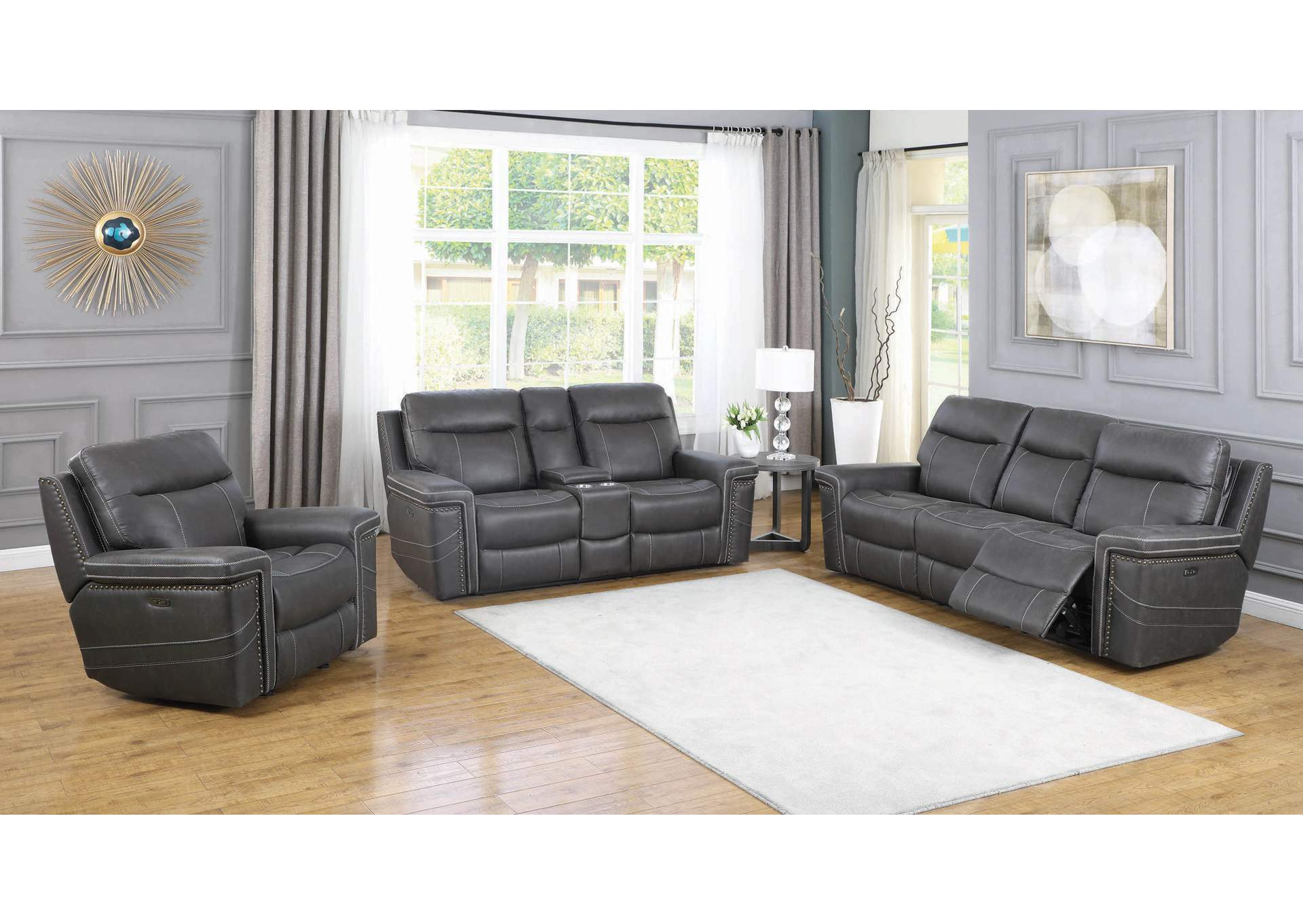Wixom Gallery 10 Piece Power Reclining Living Room Set Home Gallery