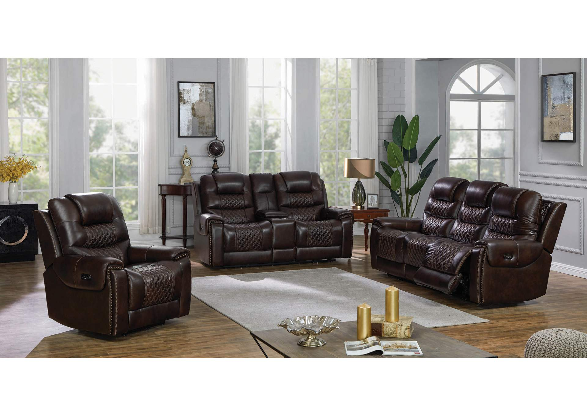 North Cultured Pearl 3 Piece Power Reclining Living Room Set Big Box Furniture Discount Furniture Stores In Miami Florida