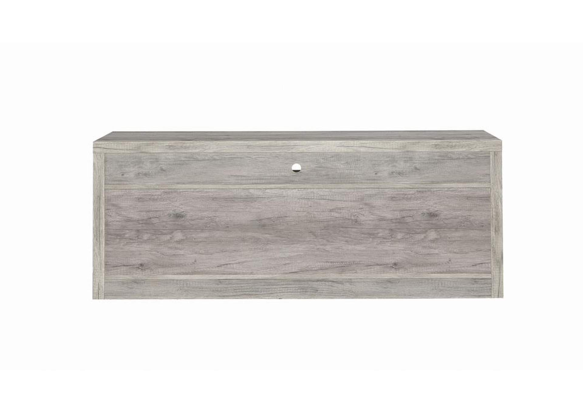 Grey Driftwood Modern Grey Driftwood TV Console,Coaster Furniture