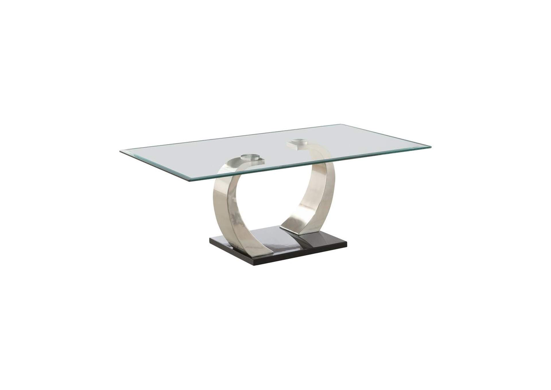 Iron Contemporary Coffee Table,Coaster Furniture