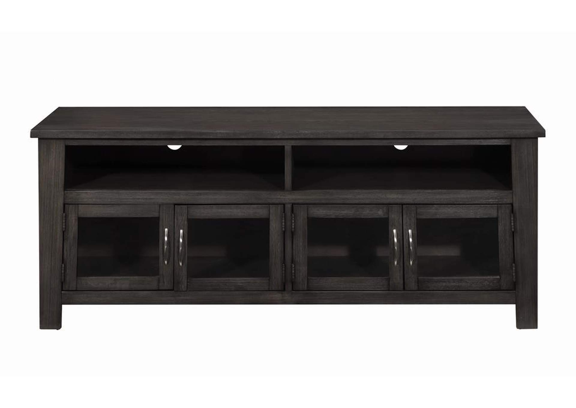 "Cod Gray Transitional Dark Grey 60"" TV Console,Coaster Furniture"