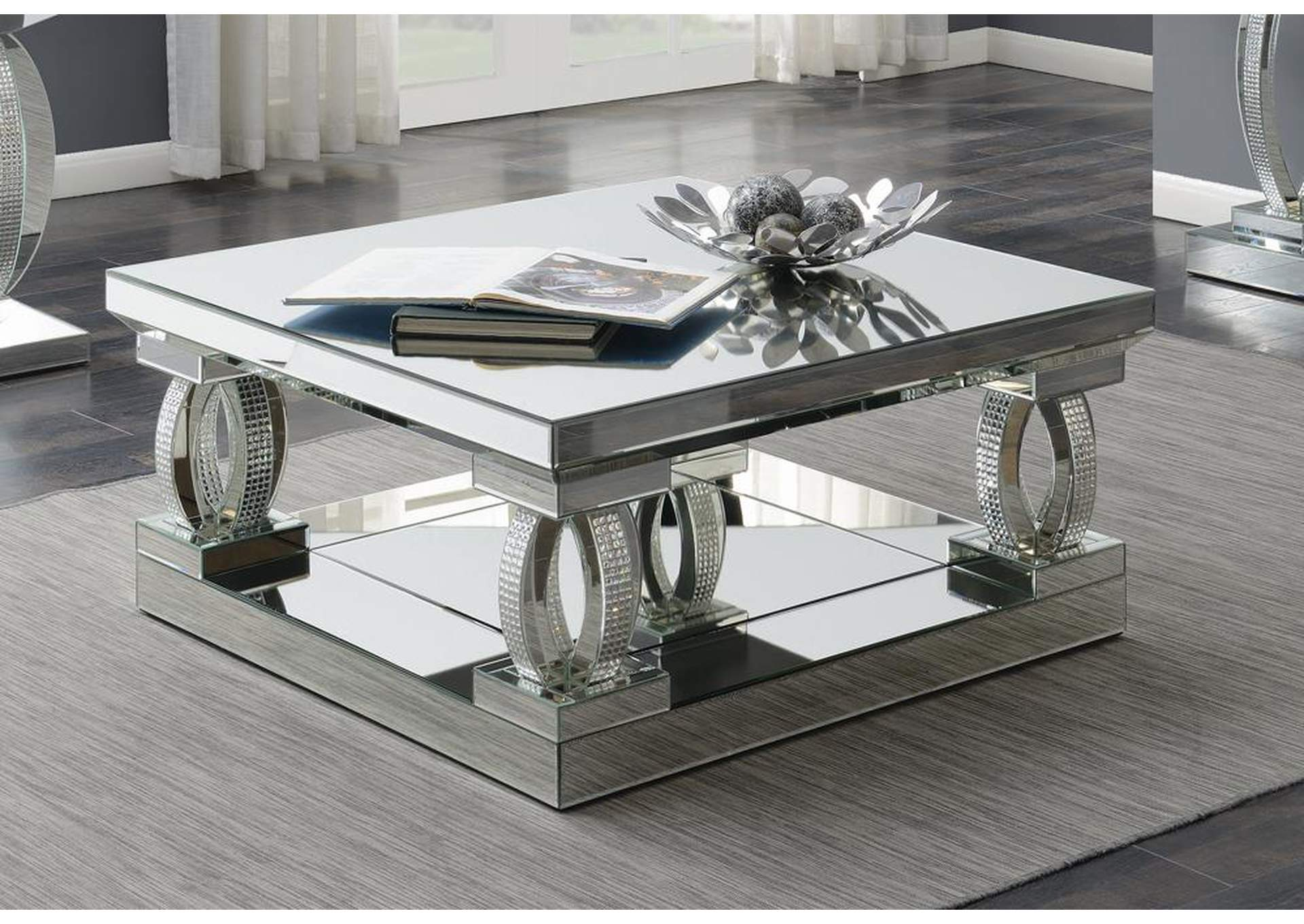Silver Coffee Table,Coaster Furniture