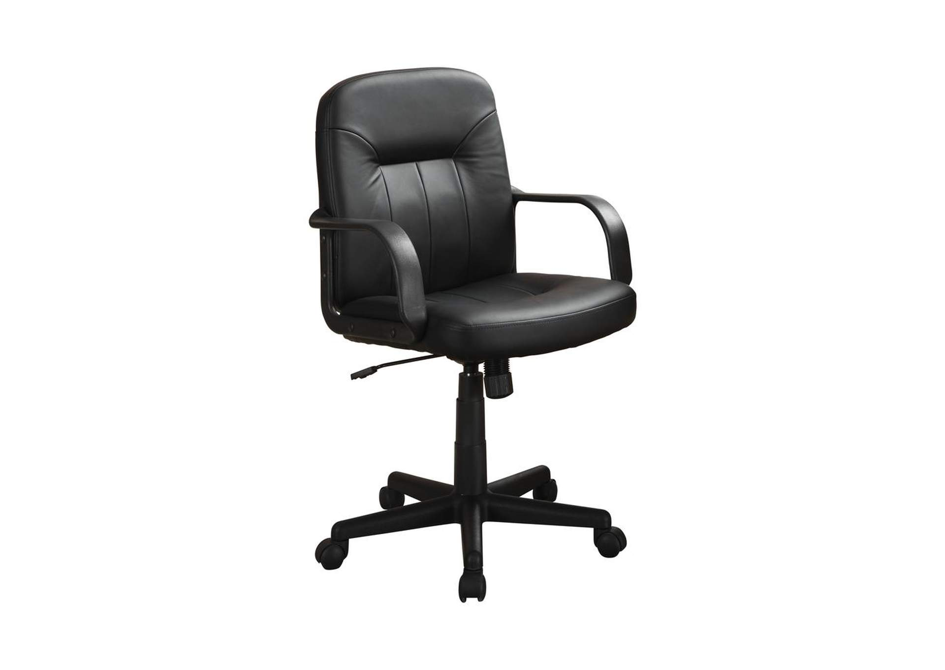 Black Contemporary Black Office Chair,Coaster Furniture