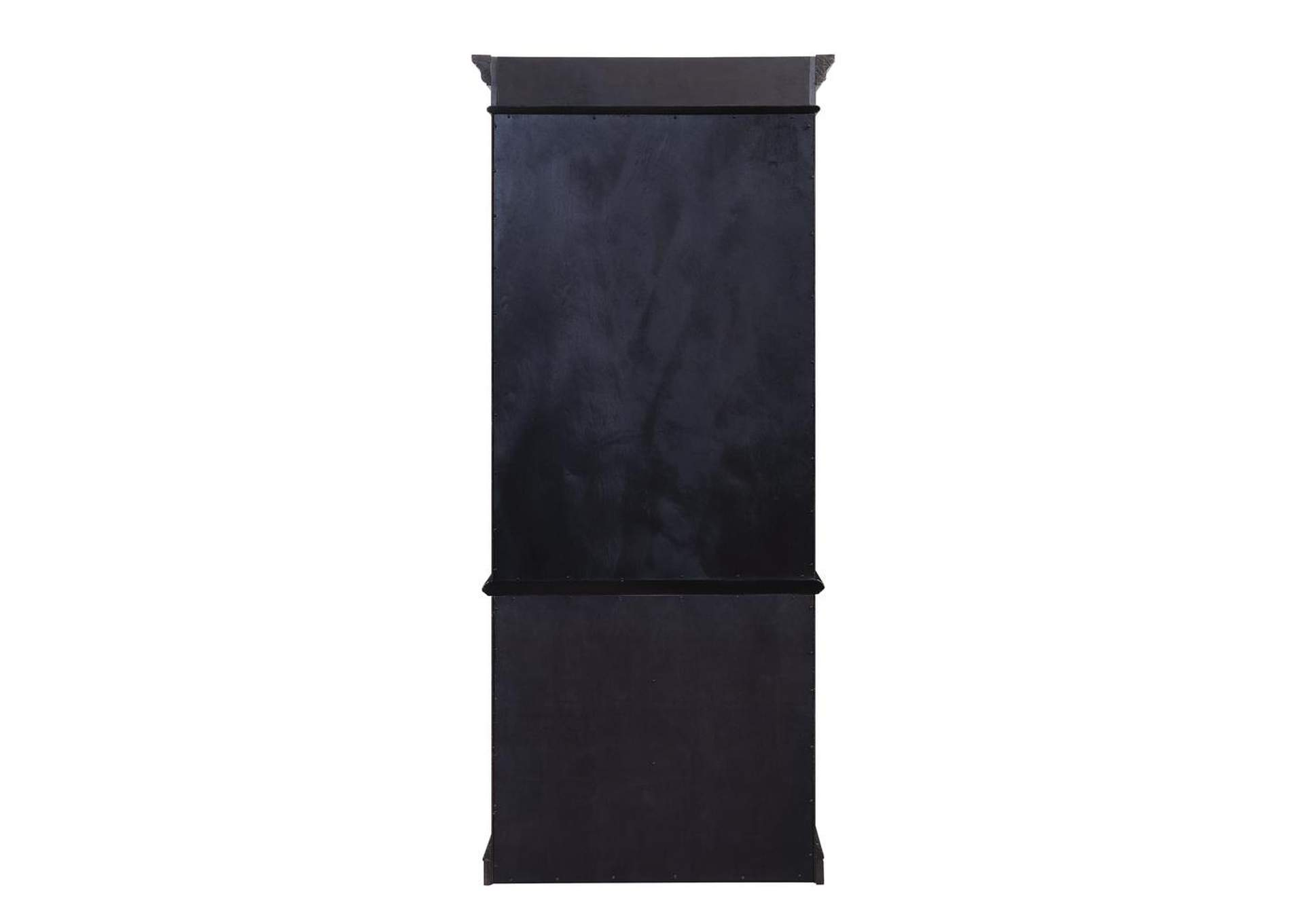 Eerie Black Gorman Espresso Bookcase,Coaster Furniture