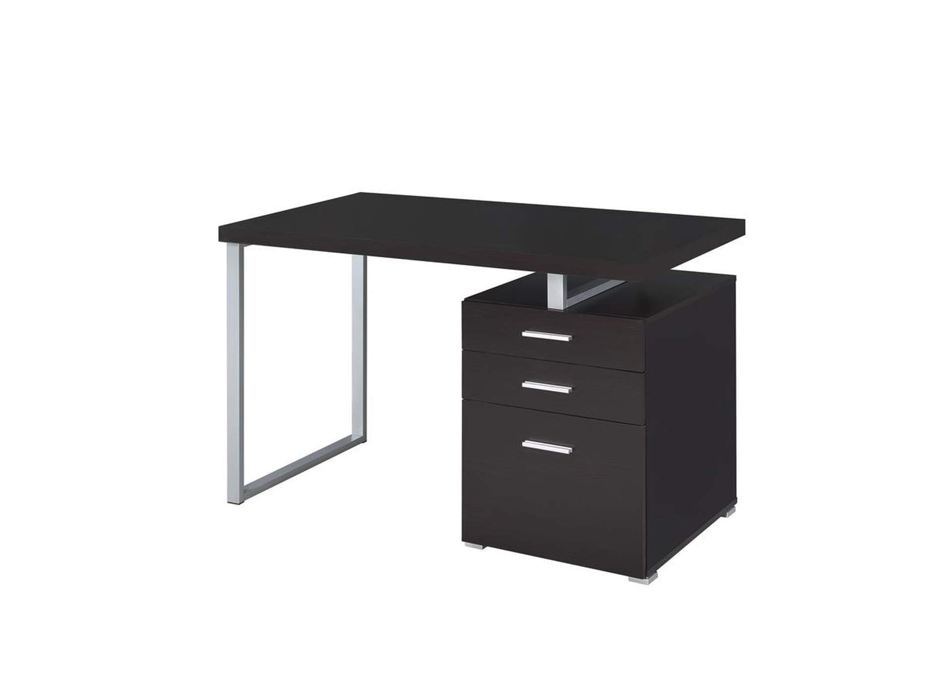 Cappuccino Contemporary Cappuccino Writing Desk,Coaster Furniture