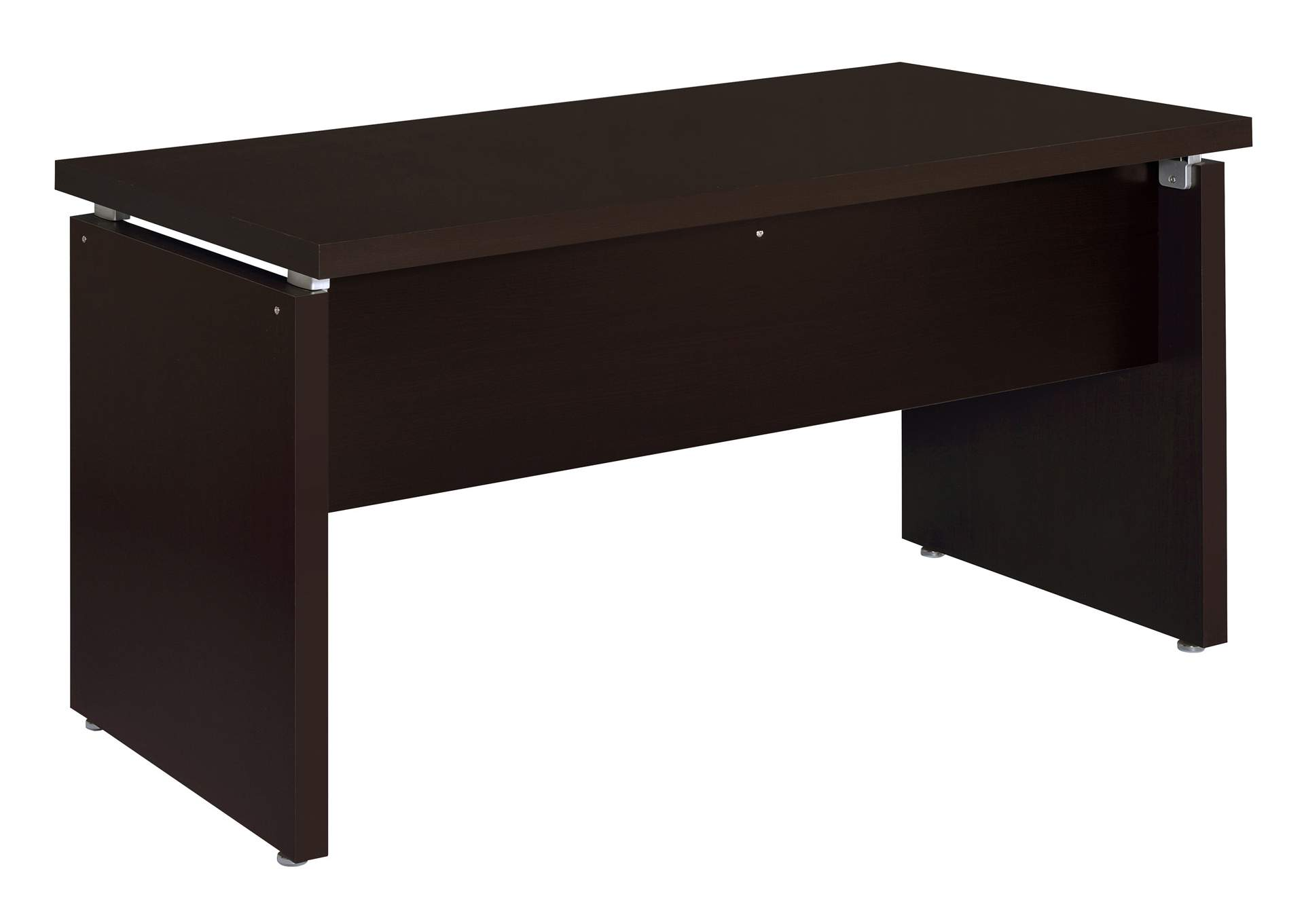 Cappuccino Skylar Contemporary Computer Desk,Coaster Furniture