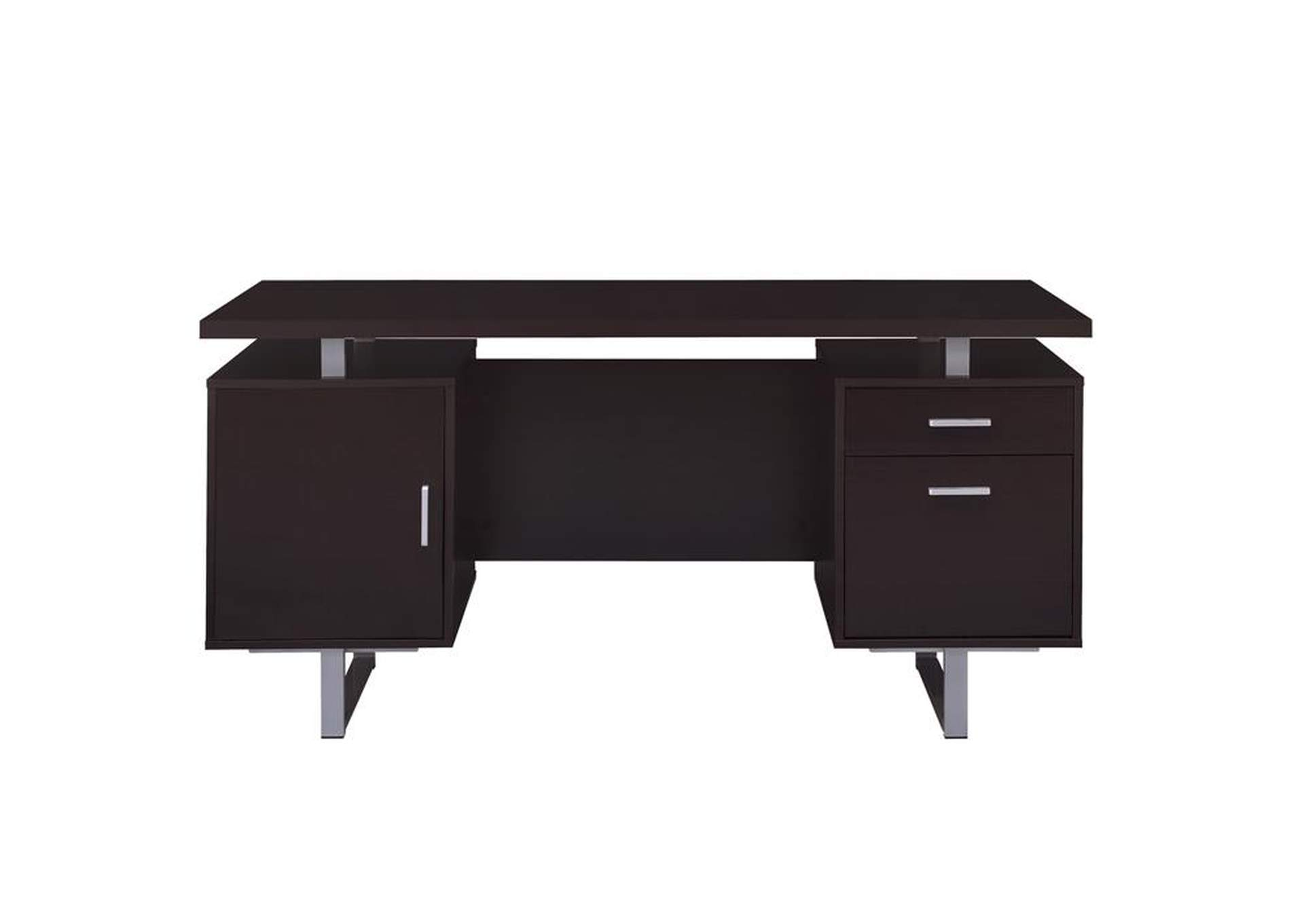 Cappuccino Glavan Contemporary Cappuccino Office Desk,Coaster Furniture