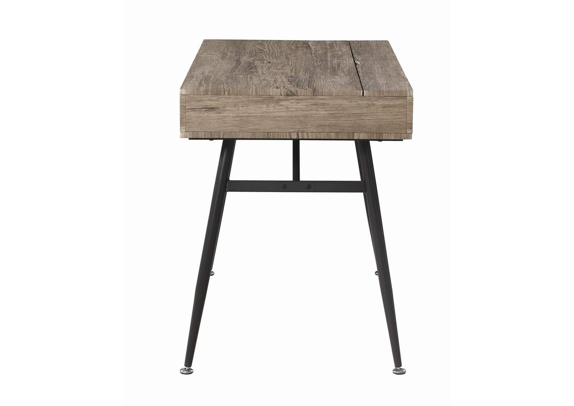 Rustic Driftwood Writing Desk,Coaster Furniture