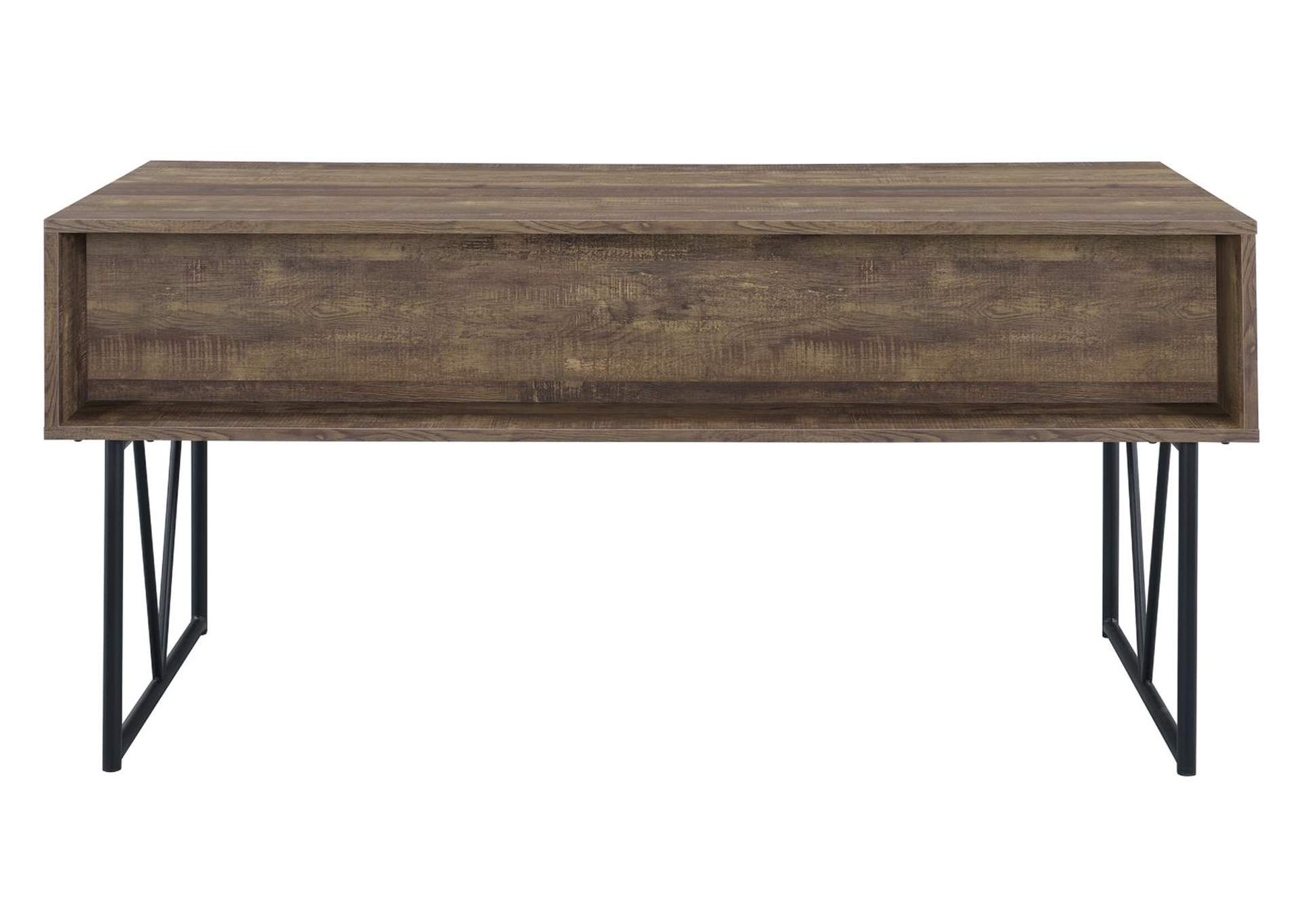 Rustic Oak Writing Desk,Coaster Furniture