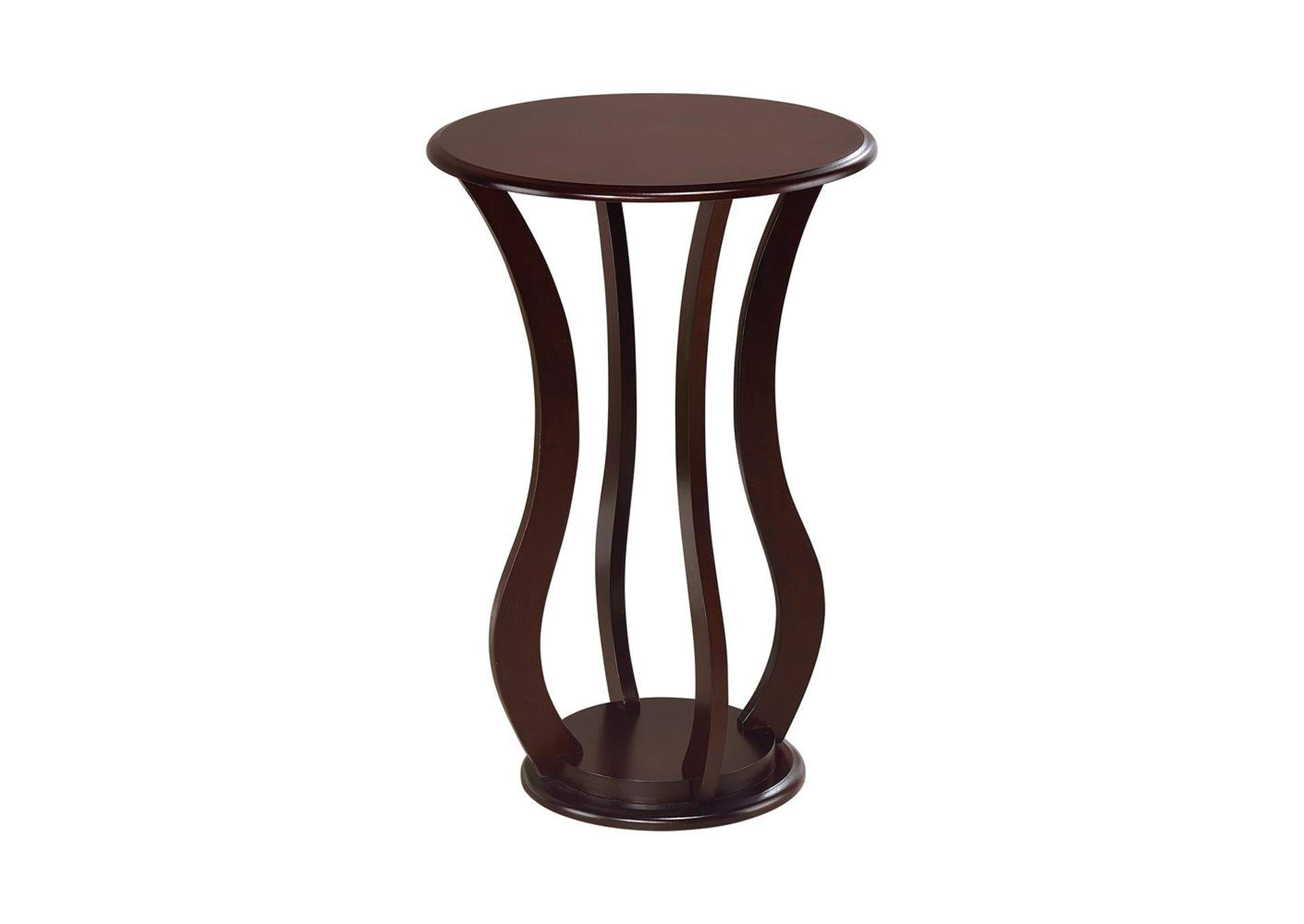 Cherry Transitional Espresso Plant Stand,Coaster Furniture
