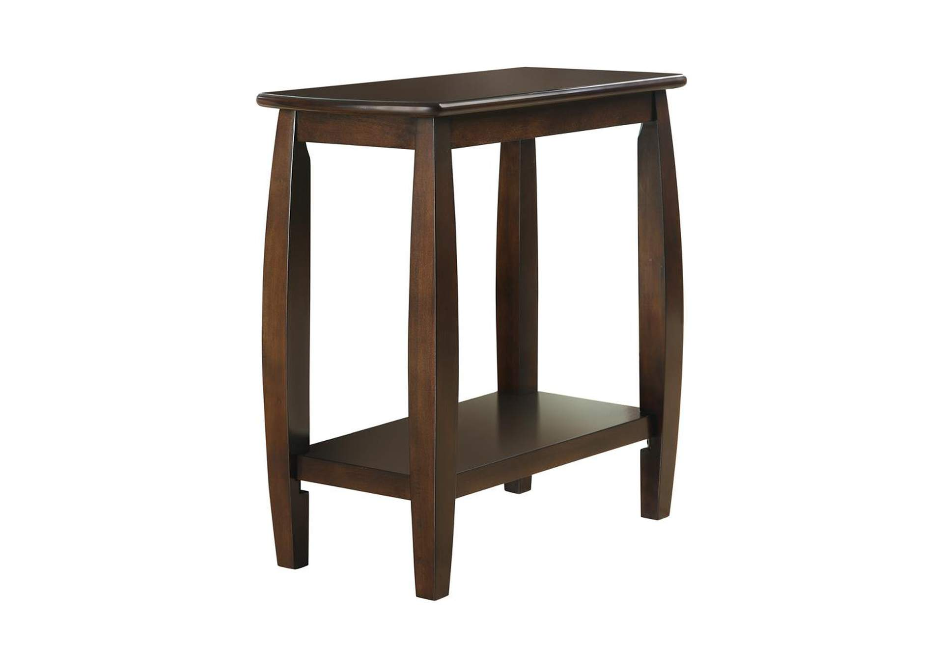 Cappuccino Casual Cappuccino Accent Table,Coaster Furniture