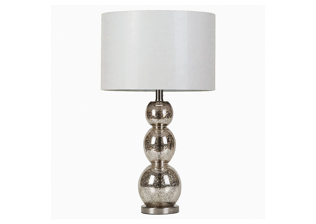 Antique Silver Transitional Antique Silver Lamp,Coaster Furniture