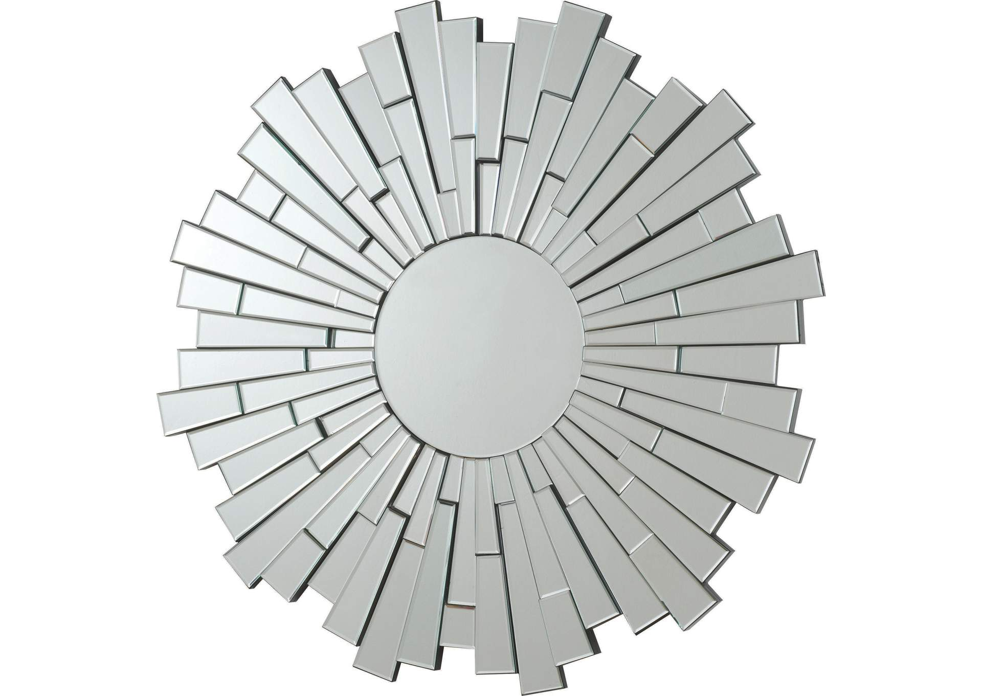 Sunburst Frameless Mirror,Coaster Furniture