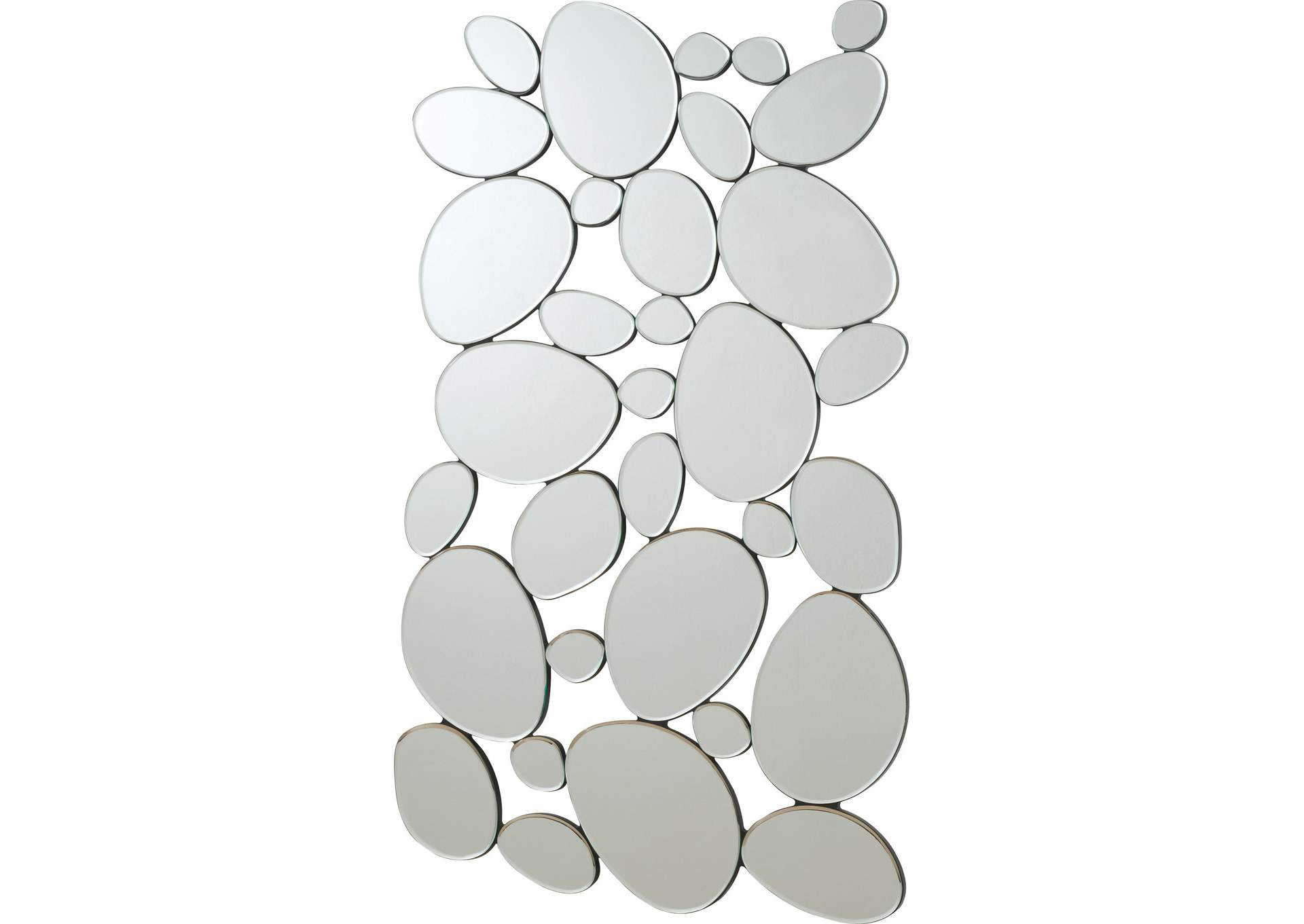 Stone Shape Collage Mirror,Coaster Furniture