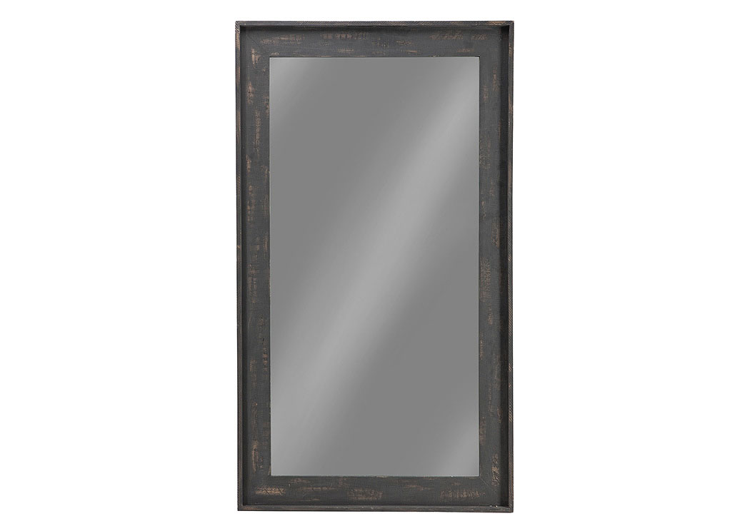 Distressed Brown Accent Mirror,Coaster Furniture