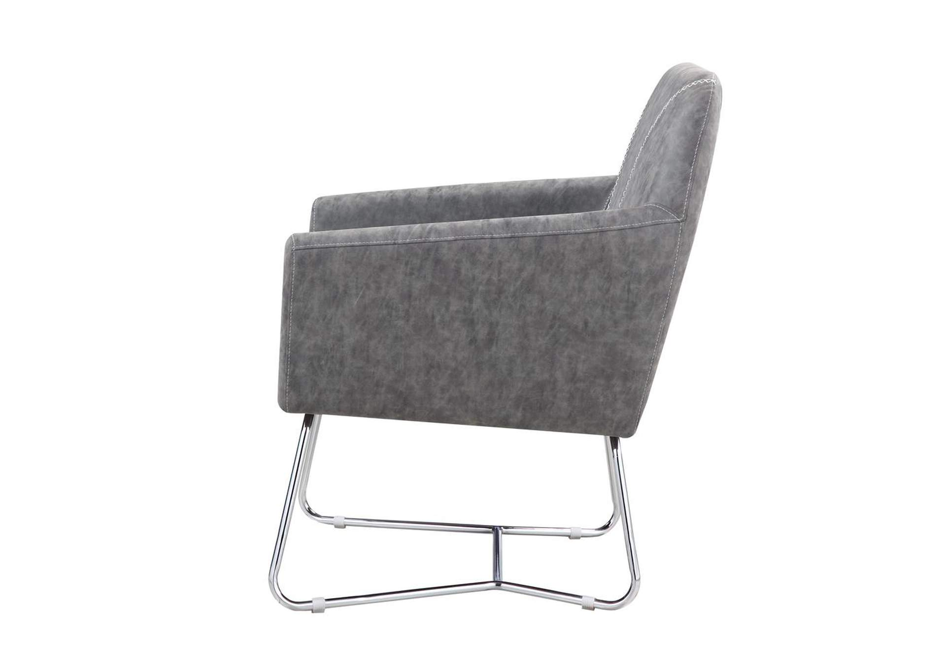 Sonic Silver Accent Chair,Coaster Furniture