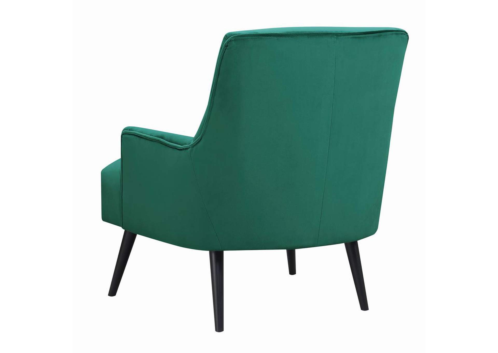 Paradiso Mid-Century Modern Green Accent Chair,Coaster Furniture