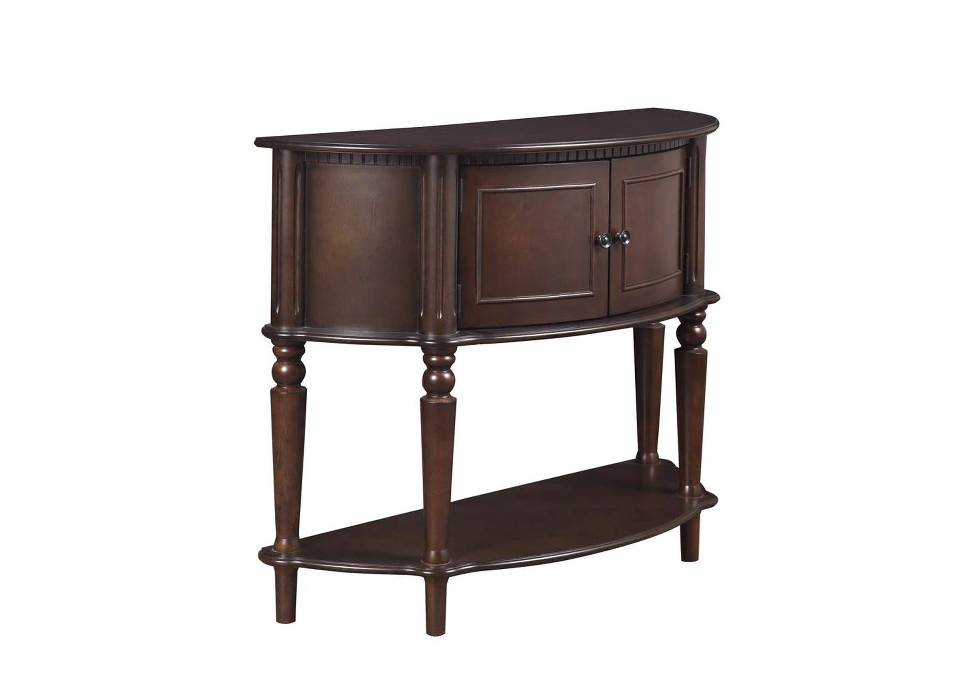 Brown Traditional Brown Console Table,Coaster Furniture