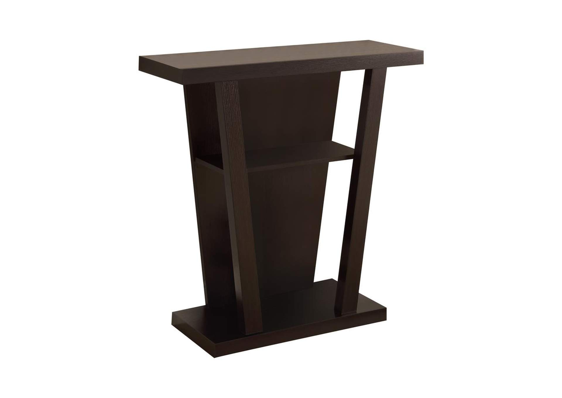 Cappuccino Cappuccino Accent Console Table,Coaster Furniture