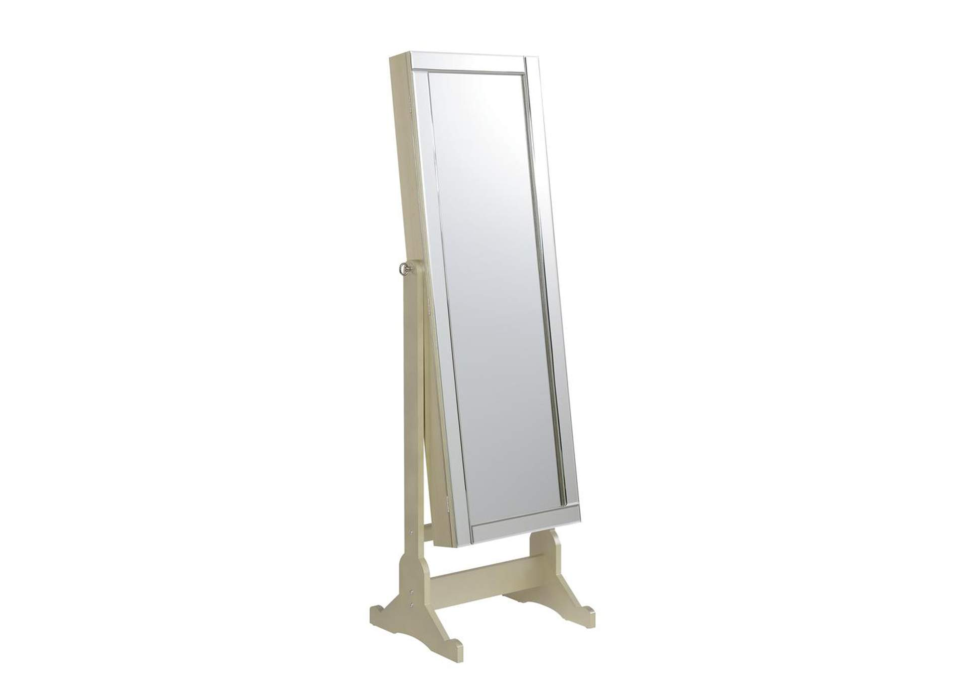 Champagne Jewelry Cheval Mirror,Coaster Furniture
