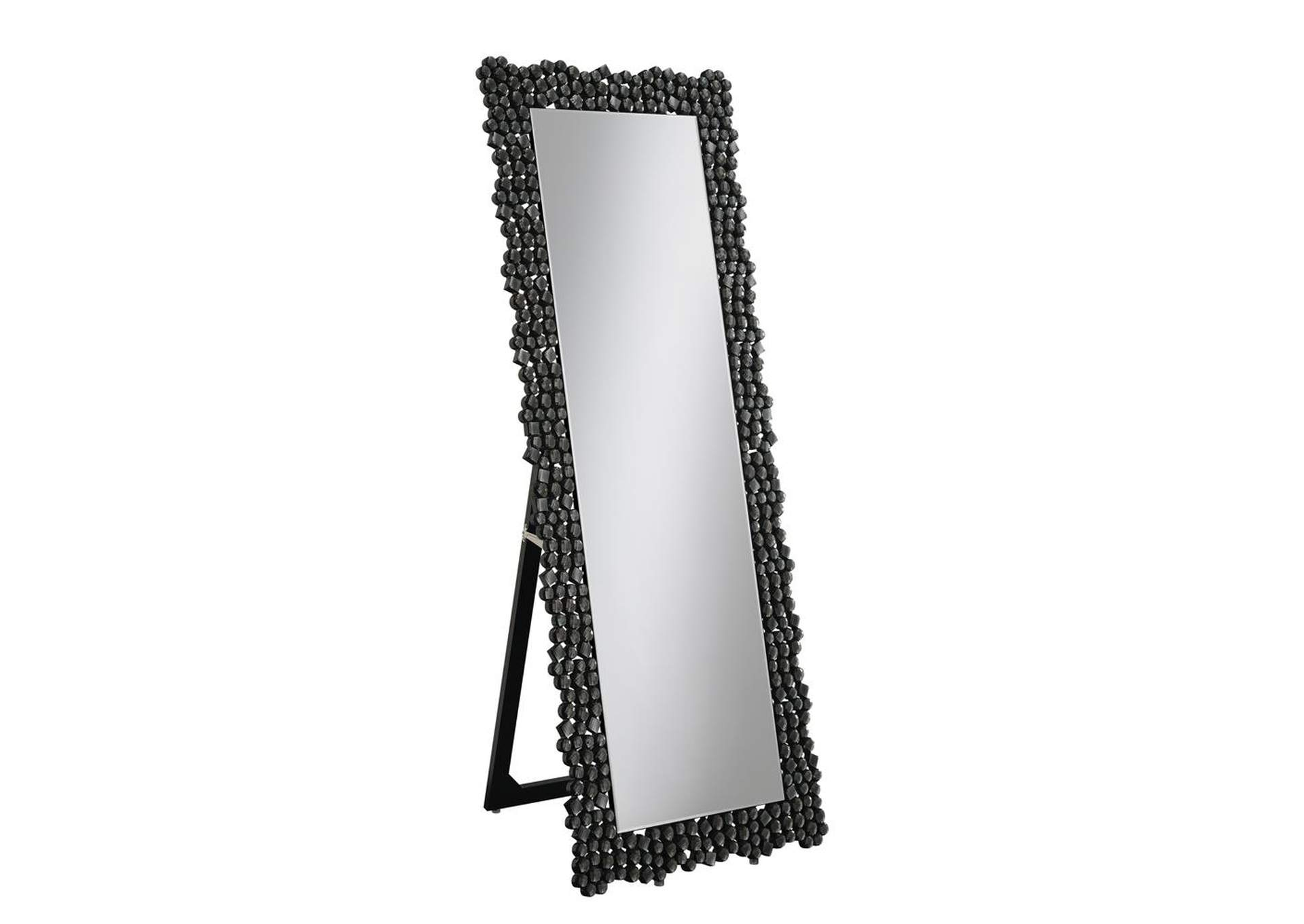 Smoke Grey Cheval Mirror,Coaster Furniture