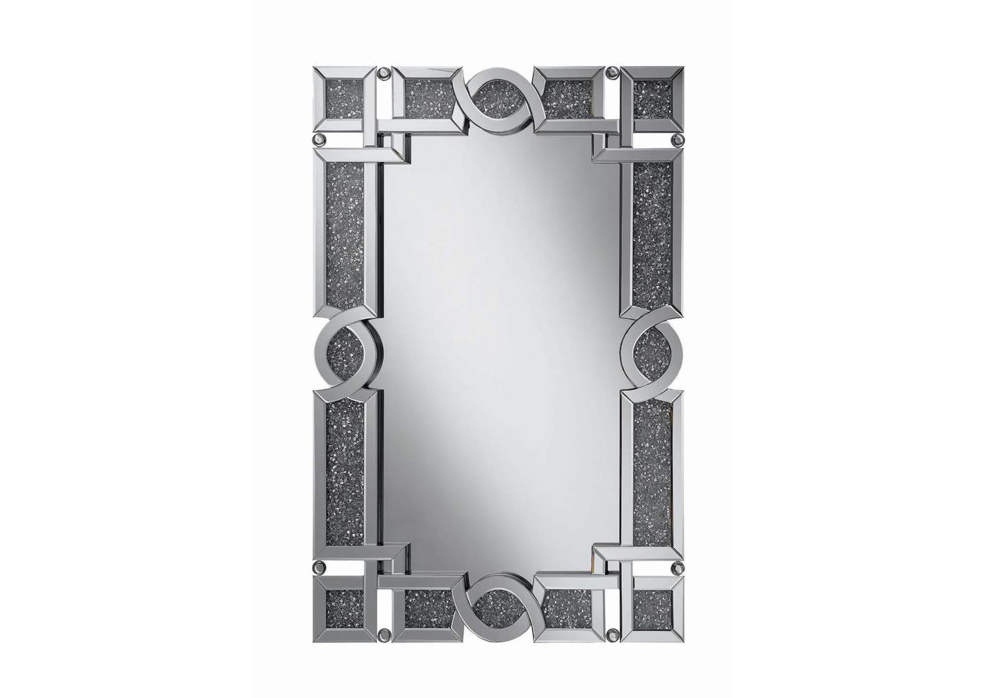 Silver Wall Mirror,Coaster Furniture