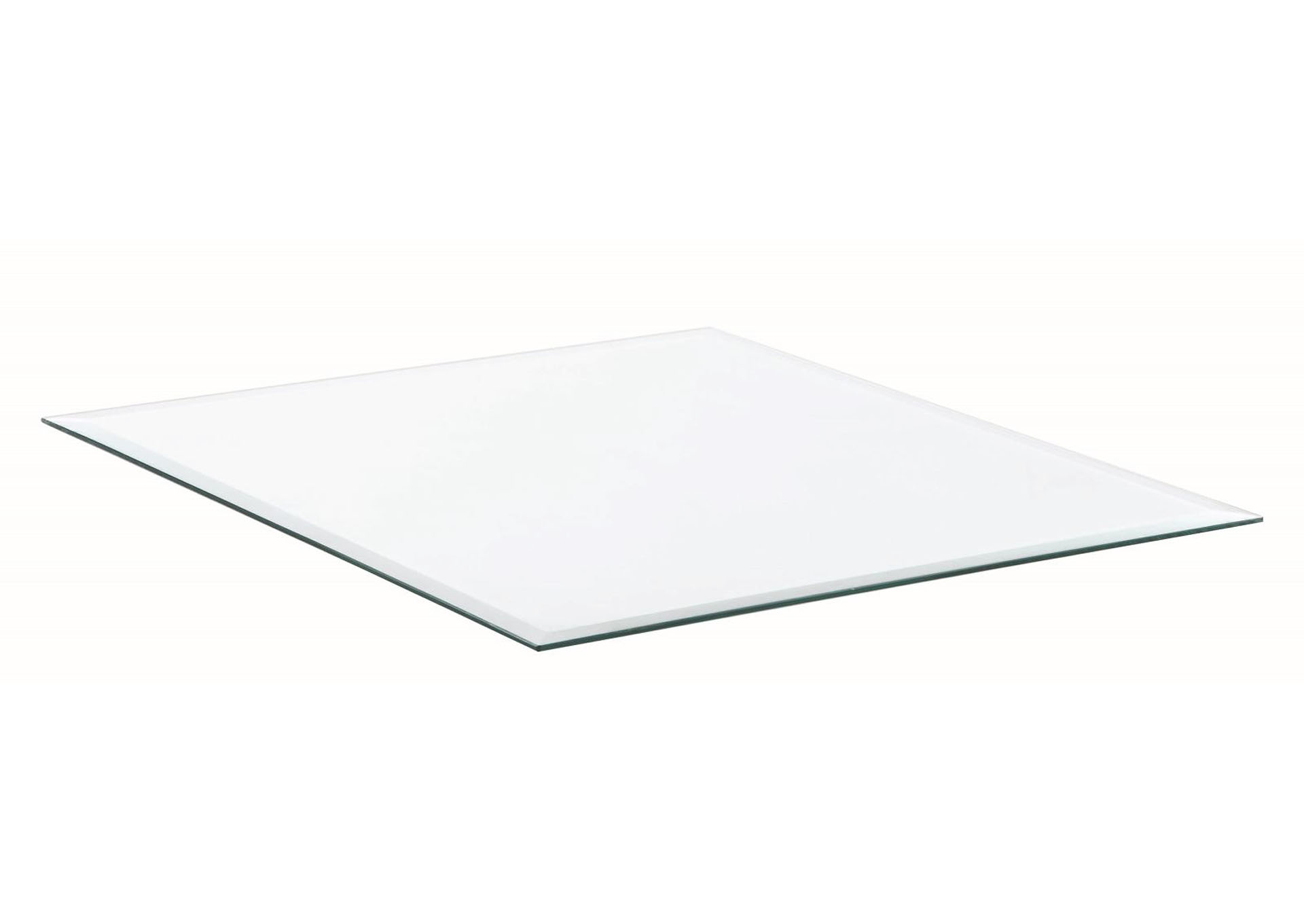"Square Glass Table Top (24"" x 24""),Coaster Furniture"