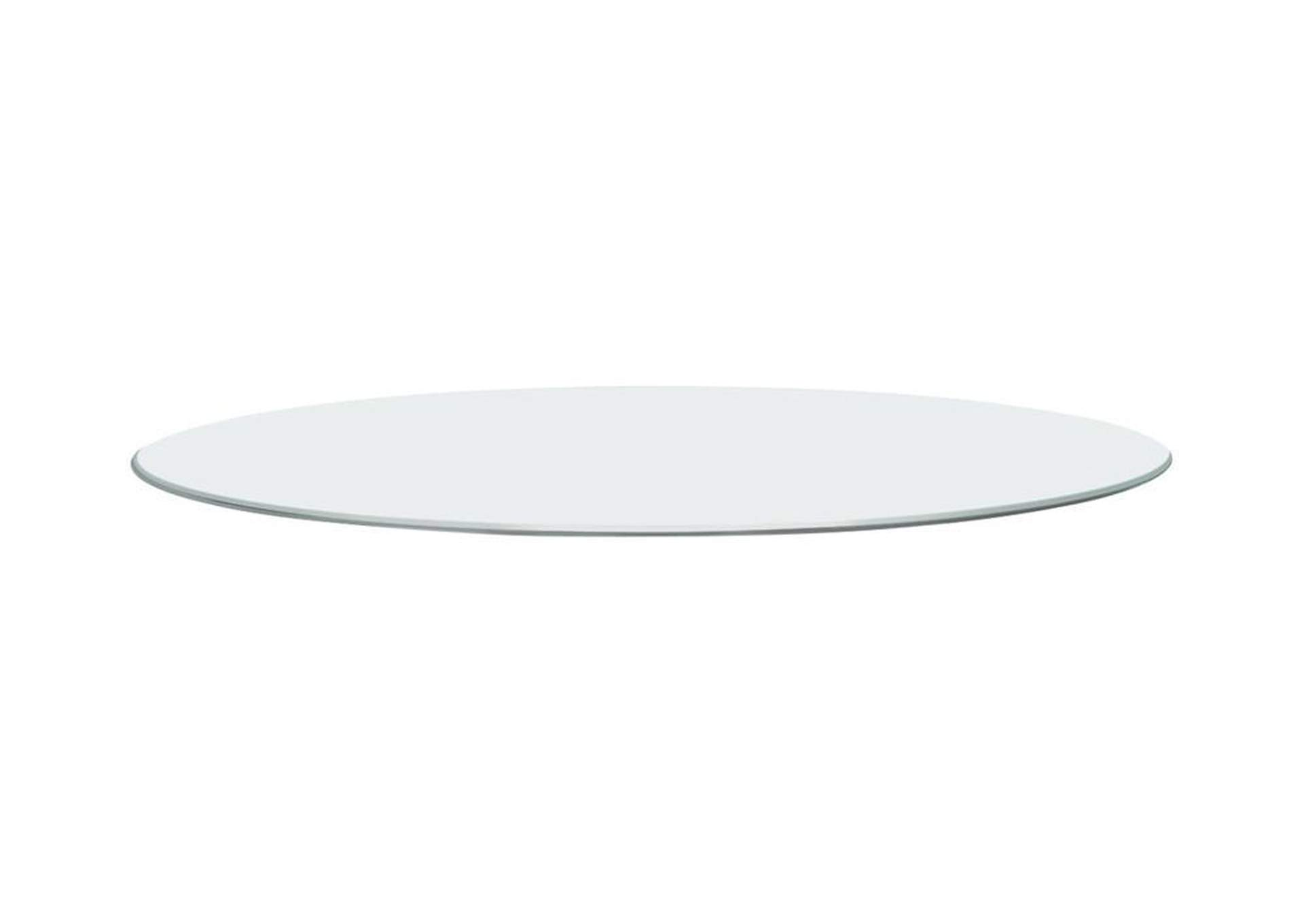 "48"" Round Glass Table Top,Coaster Furniture"