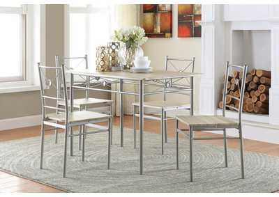 Image for Taupe Transitional Taupe Five-Piece Set