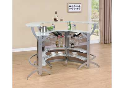 Image for Bone 3 Piece Bar Unit Set