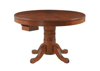 Nutmeg Mitchell Three-In-One Game Table,Coaster Furniture