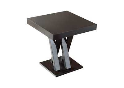 Image for Cappuccino Mannes Contemporary Cappuccino Counter-Height Table