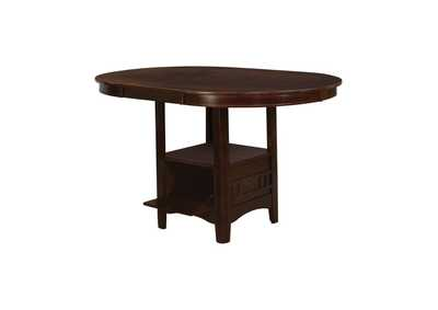 Image for Warm Brown Lavon Transitional Counter-Height Storage Table