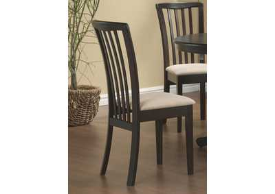 Cappuccino Brannan Casual Side Dining Chair