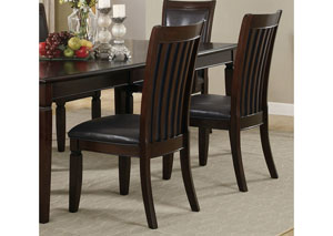 Image for Rich Brown Ramona Transitional Side Dining Chair