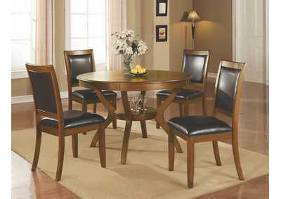 Heavy Duty Folding Picnic Table, Deep Brown Nelms Casual Dining Table Best Buy Furniture And Mattress