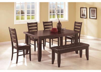 Image for Mine Shaft Dalila Cappuccino Side Dining Chair