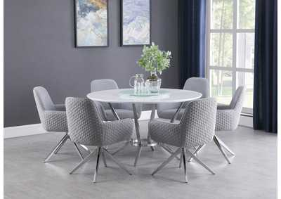 Image for Storm Gray Dining Table 5 Piece Set