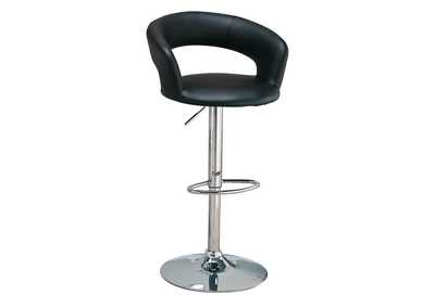 "Image for 29"" Adjustable Height Bar Stool Black And Chrome"