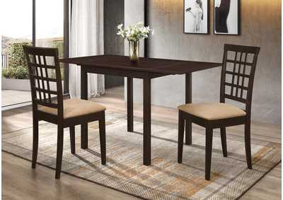 Kelso Oil 3 Piece Dining Set,Coaster Furniture