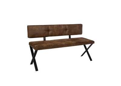 Image for Saddle Dining Bench