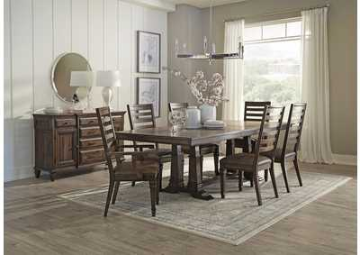 Image for Makara 5 Piece Dining Set