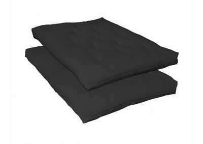 Image for Black Deluxe Innerspring Futon Pad