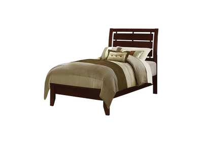 Image for Serenity Twin Bed Rich Merlot