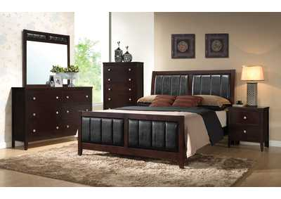 Image for Oil 4 Piece Full Youth Bedroom Set
