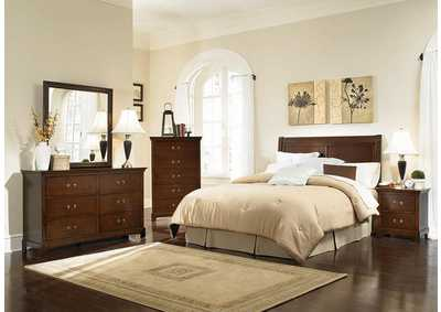 Image for Tatiana Espresso Queen/Full Headboard
