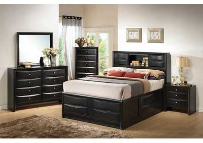 Image for Briana Transitional Black California King Bed